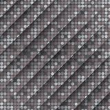 Grey Gquare Tiles Pattern sans couture Photo stock