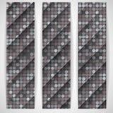 Grey Gquare Tiles Pattern sans couture Image libre de droits
