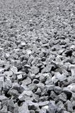 Grey granite gravel Stock Images