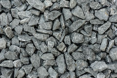Grey granite gravel background for mix concrete Royalty Free Stock Photo