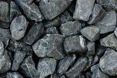grey granite gravel background for mix concrete Stock Photo
