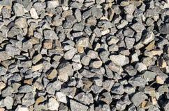Grey gravel Stock Image