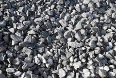 Grey gravel. stock photo