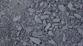 Grey Gravel Texture. An abstract texture shot of grey gravel Royalty Free Stock Image