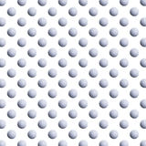 Grey Gray Golf Balls White Background Pattern Royalty Free Stock Image