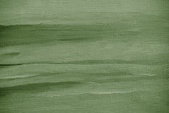 Grey green abstract painting on a canvas Stock Images