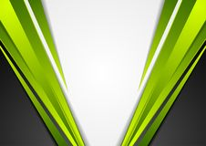 Grey, green and black tech corporate background Stock Photo