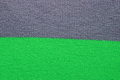 Grey and green fabric texture Stock Photo