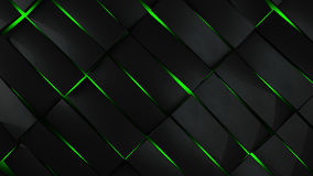 grey and green rectangles modern background Royalty Free Stock Photography