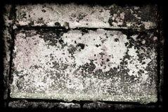 Grey Grunge Abstract Background com beira Fotografia de Stock Royalty Free