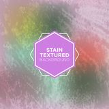 Grey Grunge Background de menthe avec la texture souillée Image libre de droits