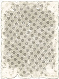 Grey grunge paper in circles Royalty Free Stock Photography