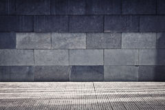 Grey Grunge Wall Stock Images