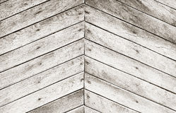 Grey grungy wooden wall Stock Photography