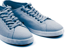 Grey Gym Shoes Stock Image