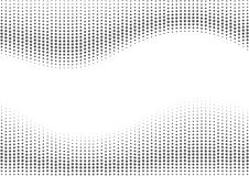 Grey halftone background. Royalty Free Stock Image