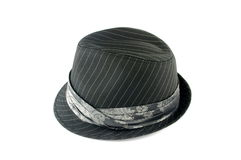Grey hat Royalty Free Stock Images
