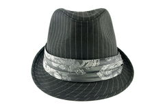 Grey hat Royalty Free Stock Photo