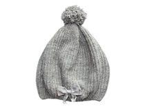 Grey hat. Isolated. Stock Photos