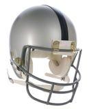 Grey Helmet with Black Stripe Stock Image