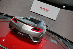 Grey Honda NSX concept Royalty Free Stock Photography
