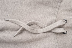 Grey Hoodie Lace Royalty Free Stock Photography