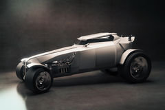Grey Hot-Rod Arkivfoton