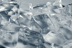 Grey ice background Royalty Free Stock Photography