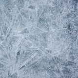 Grey Ice Texture Background con Crystal Surface fotografie stock