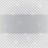 Grey Invitation Card met Horizontaal Etiket Royalty-vrije Stock Fotografie