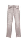 Grey jeans Stock Photo