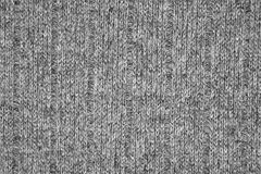 Grey jersey texture Royalty Free Stock Photos