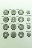 Grey keypad phone Royalty Free Stock Photography