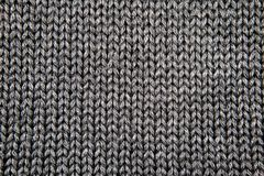 Grey knitted fabric royalty free stock images