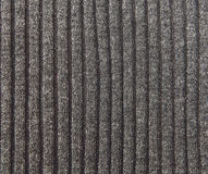 Grey Knitted Striped Background Fatto a mano; Ricamo Industria Stockinet fotografia stock libera da diritti