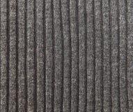 Grey Knitted Striped Background Hecho a mano; Artesanía Industria Stockinet Foto de archivo libre de regalías
