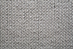 Grey knitting mat background Stock Photography