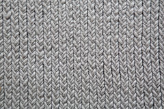 Grey knitting mat background Stock Image