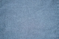 Grey knitting wool material texture for background. Royalty Free Stock Photography
