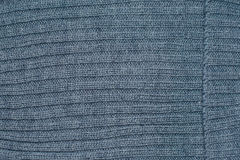 Grey knitting wool material texture for background. Royalty Free Stock Image