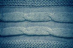 Grey knitting wool texture background stock images