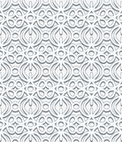Grey lace pattern Stock Image