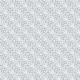 Grey lace pattern Royalty Free Stock Photos
