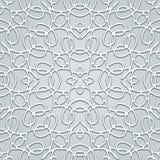 Grey lace pattern Stock Photo