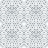 Grey lace pattern Royalty Free Stock Images