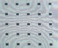 Grey lattice fabric Royalty Free Stock Images