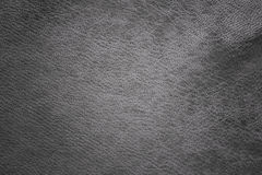 Grey leather Stock Photography