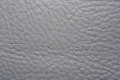 Grey leather Stock Image