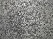Grey leather texture Stock Photography