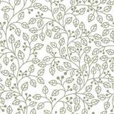 grey liść ornament Zdjęcie Stock